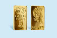 золотой слиток амурский тигр