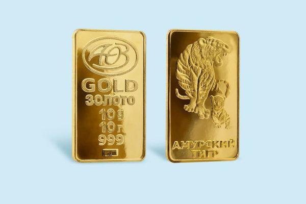 Купить золотые слитки 10 грамм